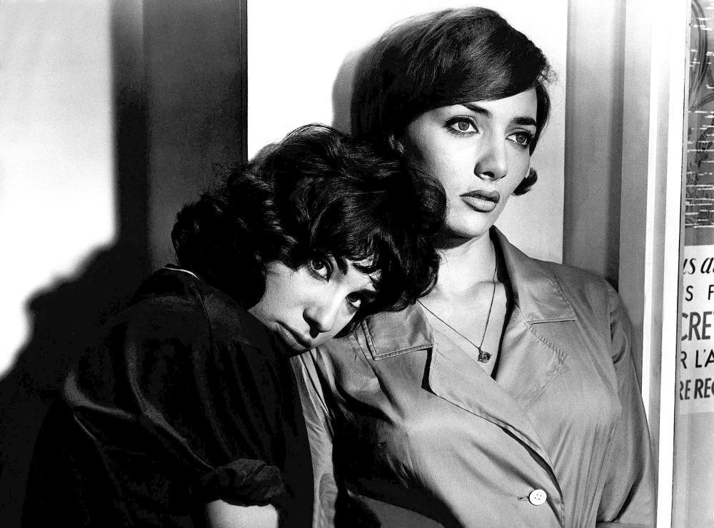 LES BONNES FEMMES, Bernadette Lafont, Stephane Audran, 1960